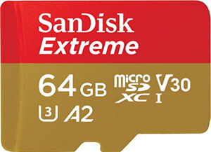 SanDisk Extreme 64 GB 160 MB s